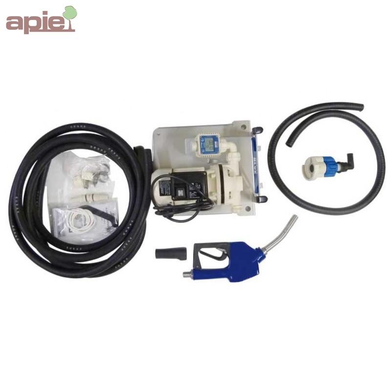 Pompe pour adblue kit de transvasement premium pour ibc - Pompe de transvasement ...