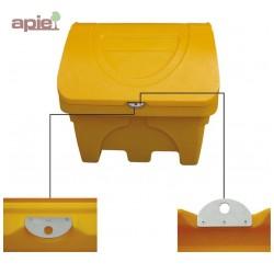 Kit de fermeture cadenassable pour coffre à sel