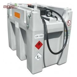 Station 600 L ADR pour ravitaillement Gasoil - pompe électrique
