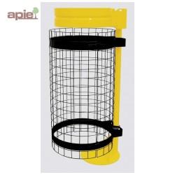 Grille de protection pour support sac poubelle
