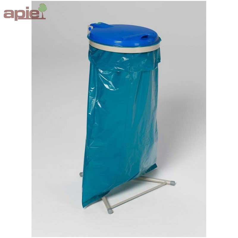 support sac poubelle avec couvercle plastique. Black Bedroom Furniture Sets. Home Design Ideas