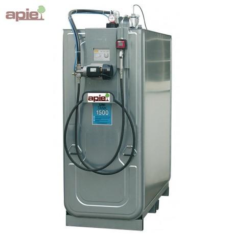 Station de distribution 750 L pour huiles neuves - pompe électrique