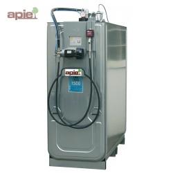 Station de distribution 1500 L pour huiles neuves - pompe électrique