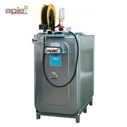 Station de distribution 1000 L pour huiles neuves version PRO - pompe électrique