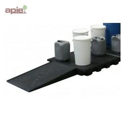 Rampe d'accès pour plateformes hauteur 150 mm
