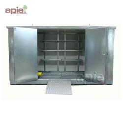 Entrepôt de stockage en rétention 5 x 2 m, gamme MSR