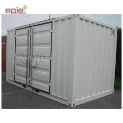 """Entrepôt de stockage en rétention 4,5 m x 2,2 m, gamme CSR """"sécurité renforcée"""""""
