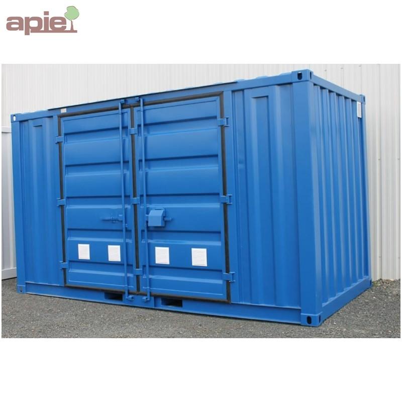 Conteneur de stockage en r tention 4 5 m x 2 44 m gamme for Tarif conteneur