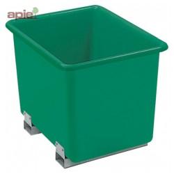 Bac de manutention avec fourreaux Coloris Vert
