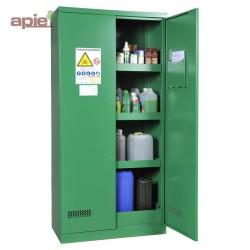 Armoire phytosanitaires, modèle haut à 2 portes