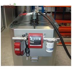 Pompe 60L/min + compteur et filtre, pour gasoil, GNR