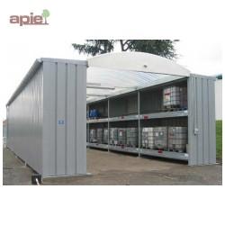 Magasin modulaires de stockage pour fûts et conteneurs