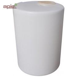 Cuve de dosage cylindrique 60 L, couvercle à capsule
