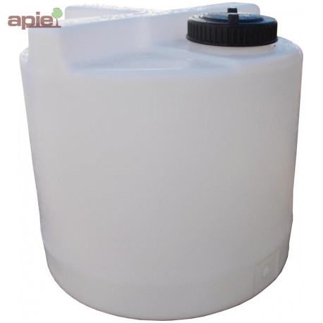 Cuve de dosage cylindrique 125 L, couvercle à visser