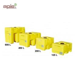 Cuve rectangulaire pour le stockage et le transport de l'eau