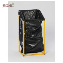 Support pour sac poubelle grand volume, 240 L ou 1000 L