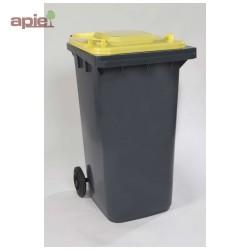 Conteneur poubelle à 2 roues, pour la collecte des déchets