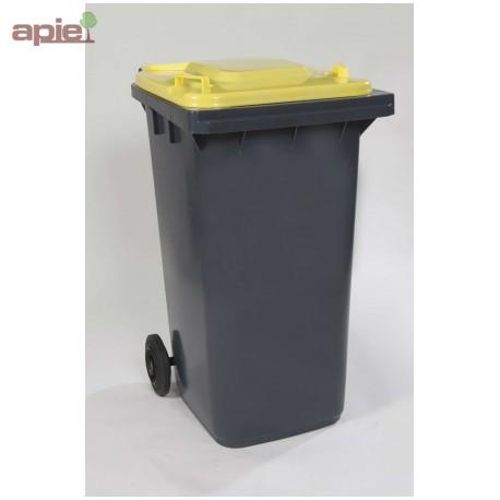 conteneur poubelle 2 roues pour la collecte des d chets. Black Bedroom Furniture Sets. Home Design Ideas