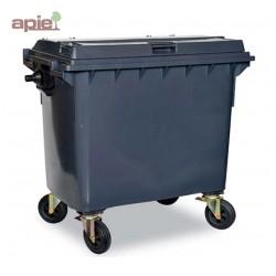 Conteneur poubelle à 4 roues, pour la collecte des déchets