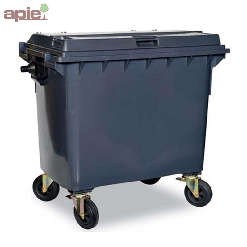 conteneur poubelle 4 roues pour la collecte des d chets. Black Bedroom Furniture Sets. Home Design Ideas
