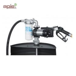 Pompe vide-fût électrique ATEX pour essence, débit 50 L/min