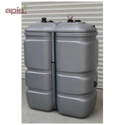 Cuve 1000 L pour le stockage d'huiles - gamme CFPE (Intégrale)