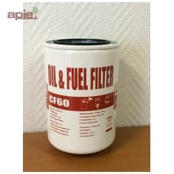 Filtre à eau et particules pour pompe gasoil 60 L (pompe/plaque60L)