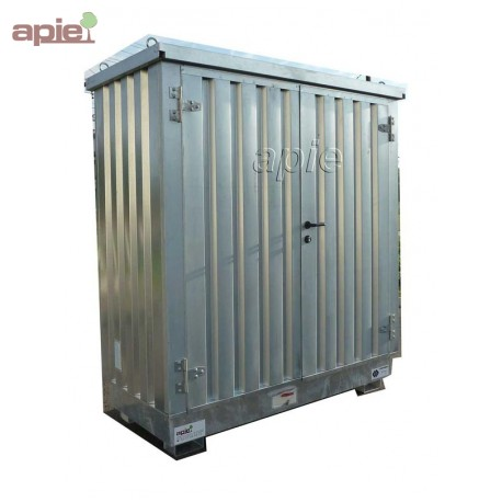 Entrepôt de stockage en rétention 2 x 1 m, gamme MSR