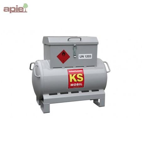 Station de ravitaillement 90L essence et mélange huile/essence, ADR