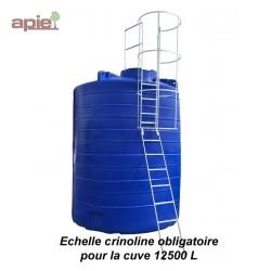 Echelle crinoline pour cuve à eau 12500 L