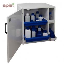 Armoire en mélaminé pour produits corrosifs modèle bas 1 porte