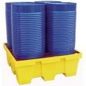 Bacs de rétention en polyéthylène pour fûts